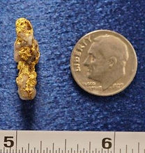 Natural Gold and Quartz Specimen gnmda502
