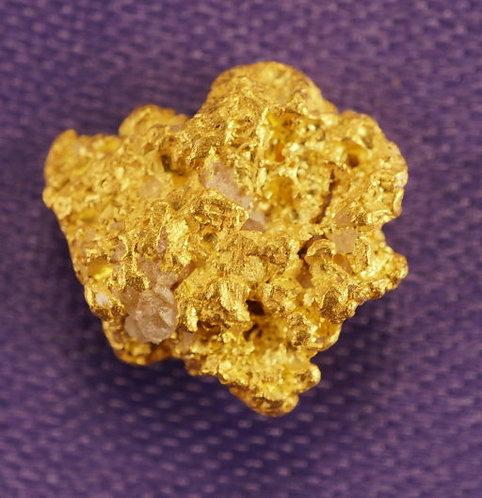 1.98 Grams Small Gold Nugget at goldnuggetman.com