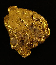 Medium Gold Nugget gnm134