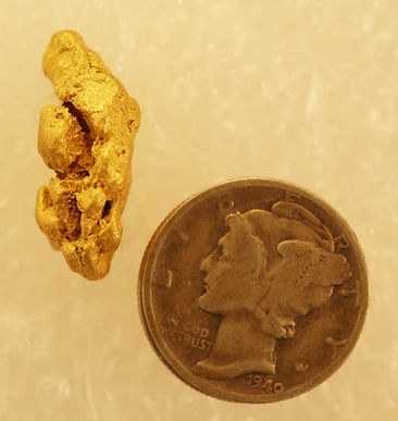 Large Gold NUgget gnm212