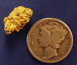 Natural Gold Nugget gnm146