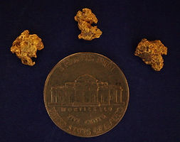 Genuine Gold Nuggets gnmcol136