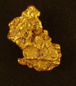 Small Gold Nugget gnm171