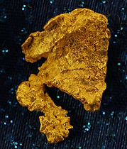 Small Gold Nugget gnm205