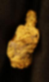 Natural Gold and Quartz Nugget gnm145