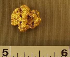 Medium Gold Nugget gnm189
