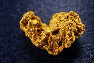Large Gold Nugget gnm108