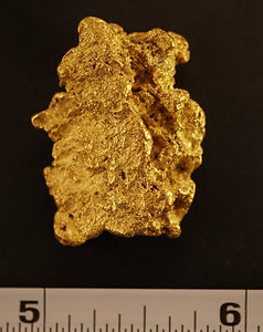 Natural Gold Nugget gnm104