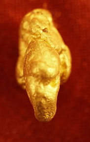 Natural Gold Nugget LeLePhant gnm133