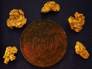 Genuine Gold Nuggets gnmcol131
