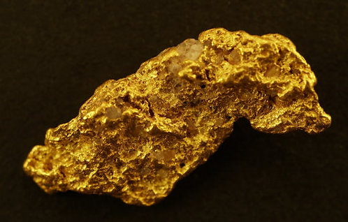 Medium Gold Nugget at goldnuggetman.com