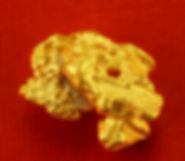 Small Gold Nugget gnm137