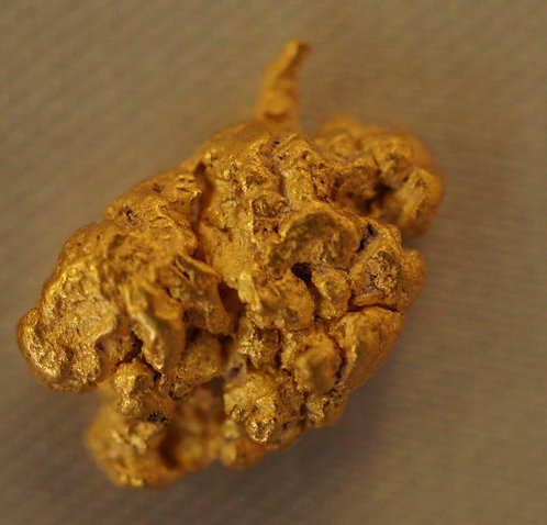 Natural Gold Nugget at goldnuggetman.com