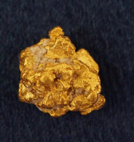 Medium Gold Nugget at goldnuggetman.com