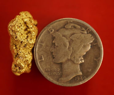 Large Gold Nugget gnm176