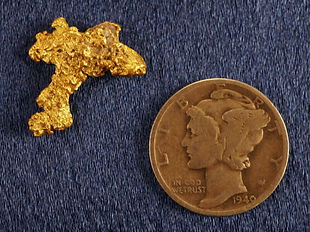 Natural Gold Nugget gnm184