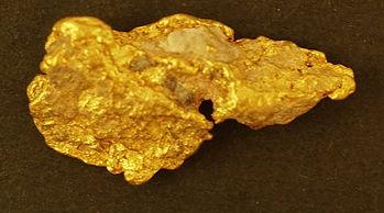 Medium Gold Nugget gnm179