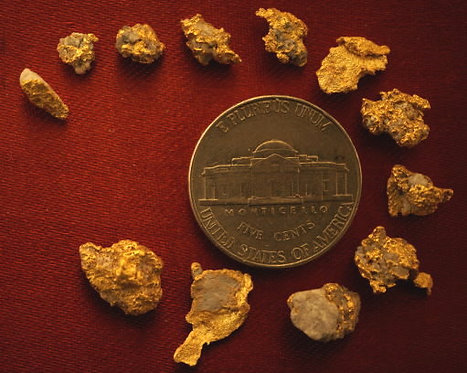 Gold Nugget Collection at goldnuggetman.com