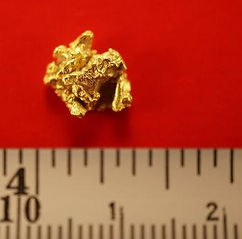 Natural Gold Nugget gnm124