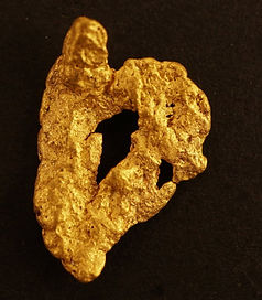 Small Gold Nugget The Mask gnm125