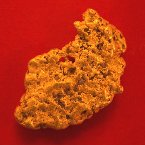 Large Nevada Gold Nugget 29.28 Grams