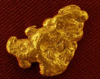 Medium Gold Nugget gnm181