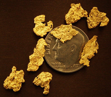 Gold Collection For Sale at goldnuggetman.com