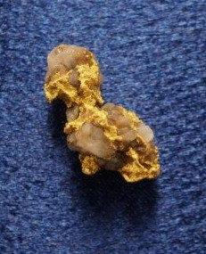 Nevada Gold and Quartz Specimen at goldnuggetman.com
