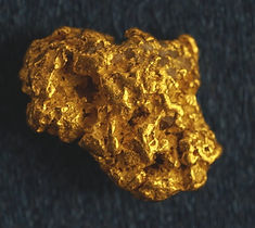 Medium Gold Nugget gnm154