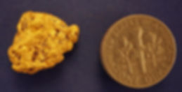 Large Gold Nugget gnm213