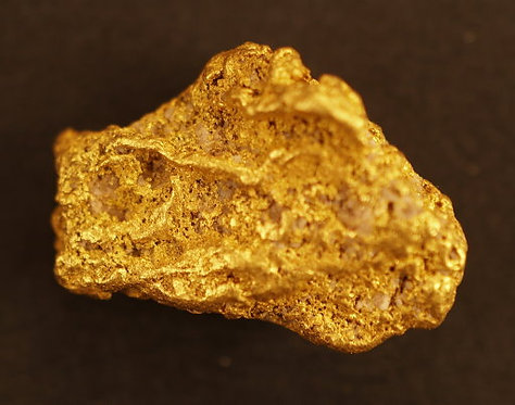 Natural Nevada Gold Nugget at goldnuggetman.com