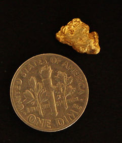 Natural Gold Nugget gnm196