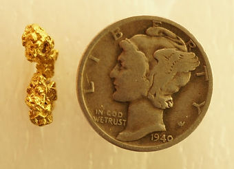 Small Gold Nugget gnm195