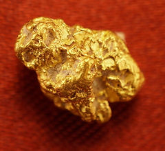 Medium Gold Nugget gnm163