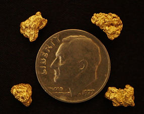 Natural Gold Nugget Collection gnmcol128