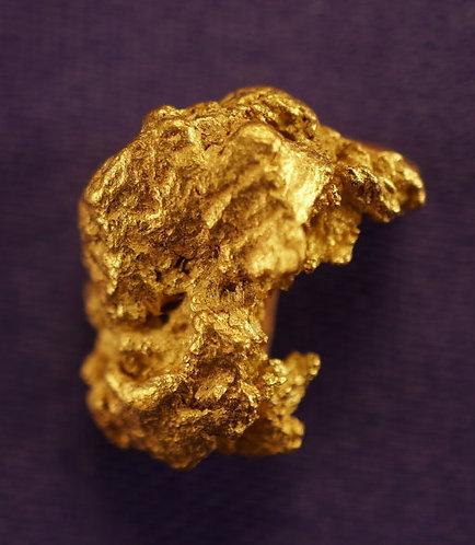 The Screamer Gold Nugget at goldnuggetman.com