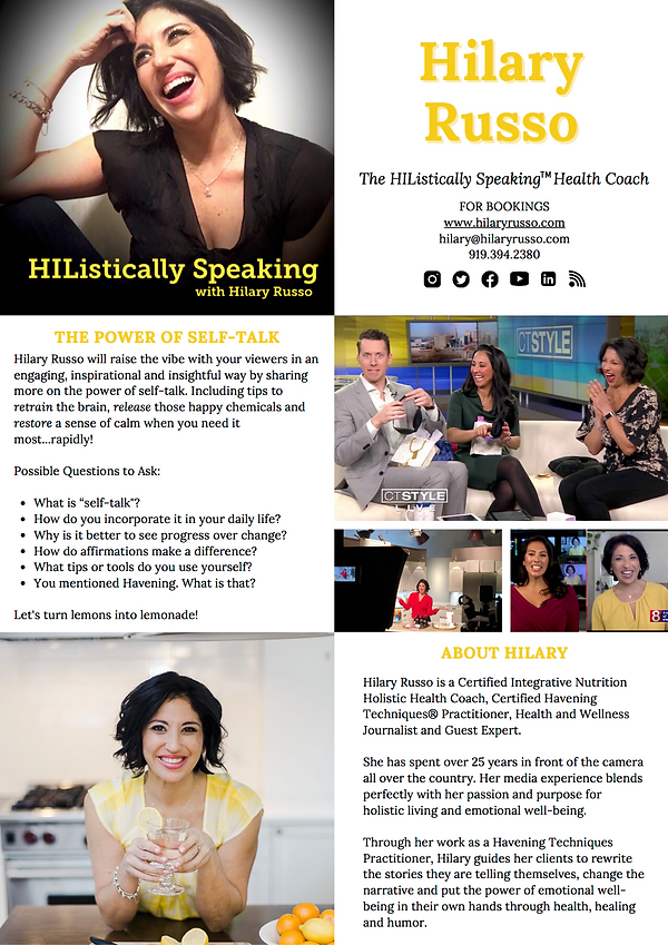 Hilary Russo_HIListically Speaking_One P