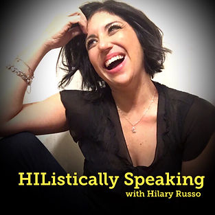 HIListically Speaking podcast logo copy.