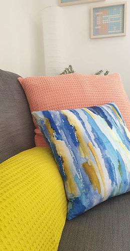 Waterfall cushion