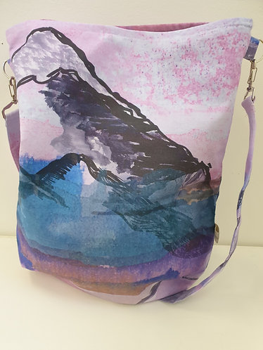 Pink Mountain Crossover Bag