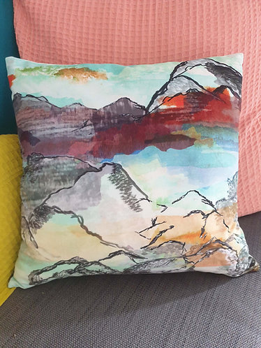 Mountain View Cushion