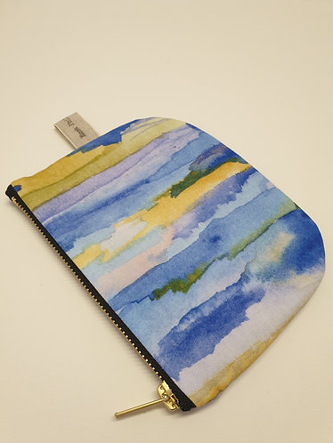 Blue Water Small Half Moon Bag - OUT OF STOCK