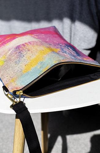 Carousel Linen Weekend Bag