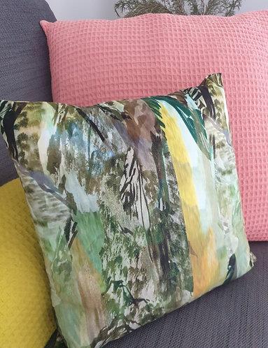 Green Landscape Cushion