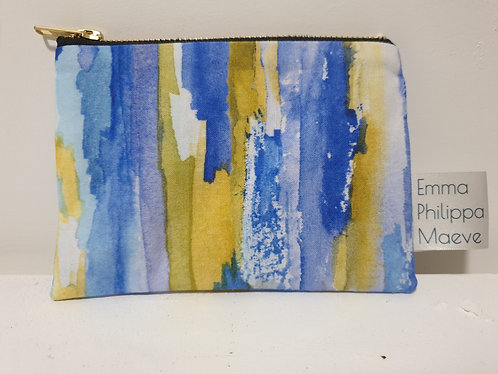 Blue Large Coin Purse