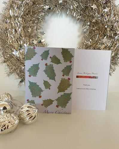 Christmas Tree Dance card