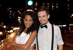 Aline e Junior Cardoso