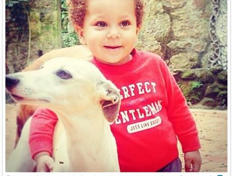 Aline Wirley comemora dois anos do 'bebê caramelo' com post emocionante: 'O melhor de nó
