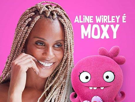 """Aline Wirley é dubladora da animação """"UglyDolls"""""""