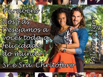 Aline e Igor enfim Casados !!!